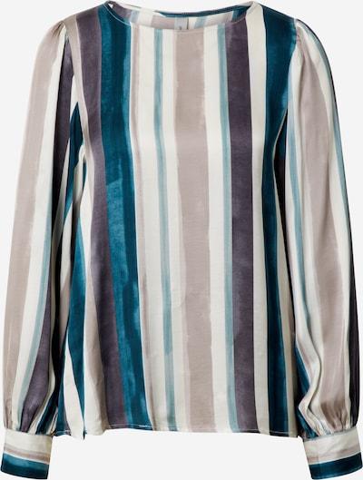 Soyaconcept Bluzka 'Lamia 1' w kolorze beżowy / niebieski / ciemnozielonym, Podgląd produktu