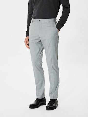SELECTED HOMME Viikidega püksid, värv hall