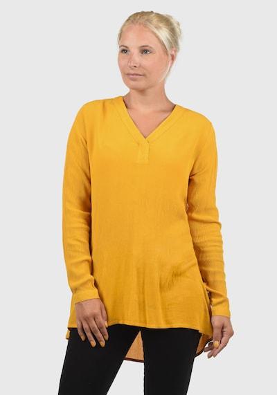 Blend She Schlupfbluse 'Creole' in gelb, Modelansicht