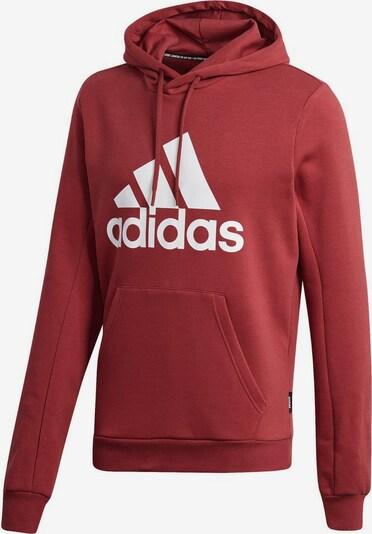 ADIDAS PERFORMANCE Sweatshirt in rot / weißmeliert, Produktansicht