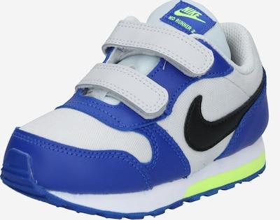 Nike Sportswear Sneaker in blau / grau / neongrün / schwarz / weiß, Produktansicht