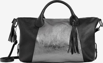 faina Henkeltasche in schwarz / silber, Produktansicht