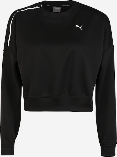PUMA Sweatshirt 'Train' in schwarz, Produktansicht