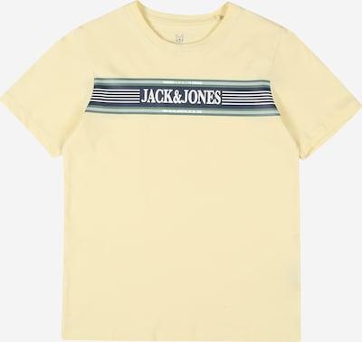 pasztellsárga Jack & Jones Junior Póló 'JORANTHONY', Termék nézet
