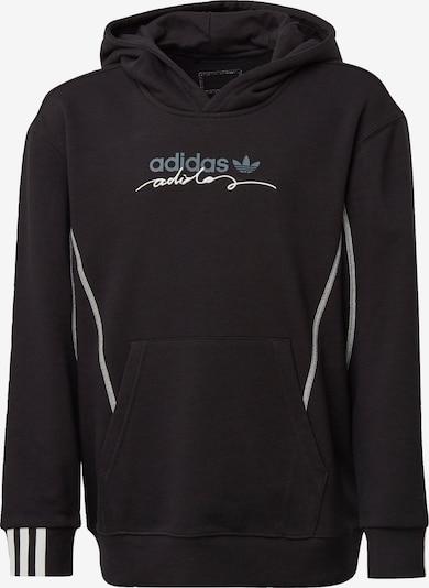 ADIDAS ORIGINALS Sweatshirt in hellblau / schwarz / weiß, Produktansicht