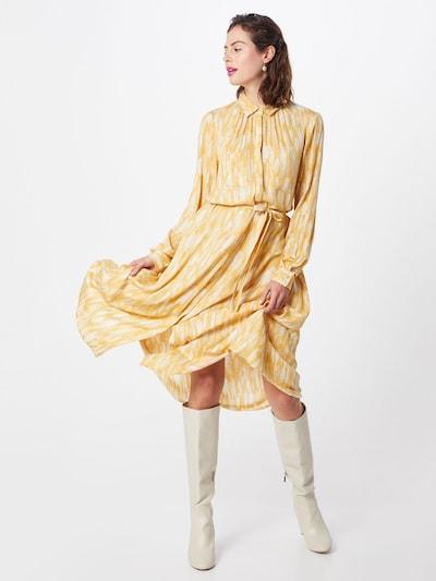 Soft Rebels Blusenkleid 'Blaze' in gelb, Modelansicht