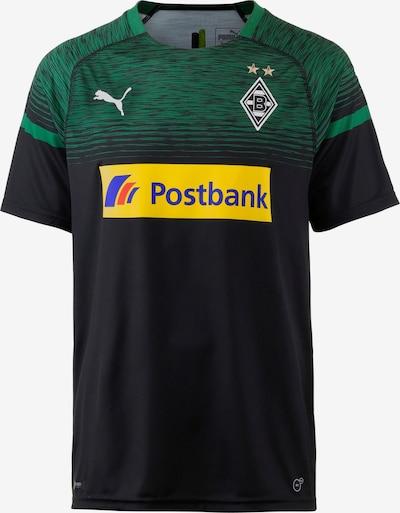 PUMA Fußballtrikot 'Borussia Mönchengladbach 18/19 Auswärts' in gelb / grün / schwarz, Produktansicht