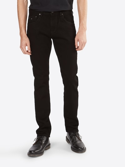 TOMMY HILFIGER Jeans 'Denton' in black denim, Modelansicht