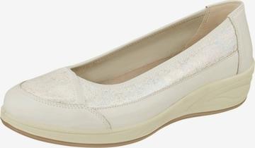 Lei by tessamino Ballet Flats 'Sarah' in Beige