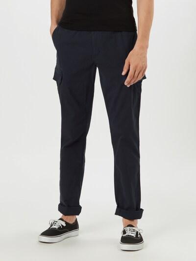 TOMMY HILFIGER Cargo hlače u tamno plava, Prikaz modela