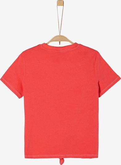 s.Oliver T-Shirt in karminrot, Produktansicht