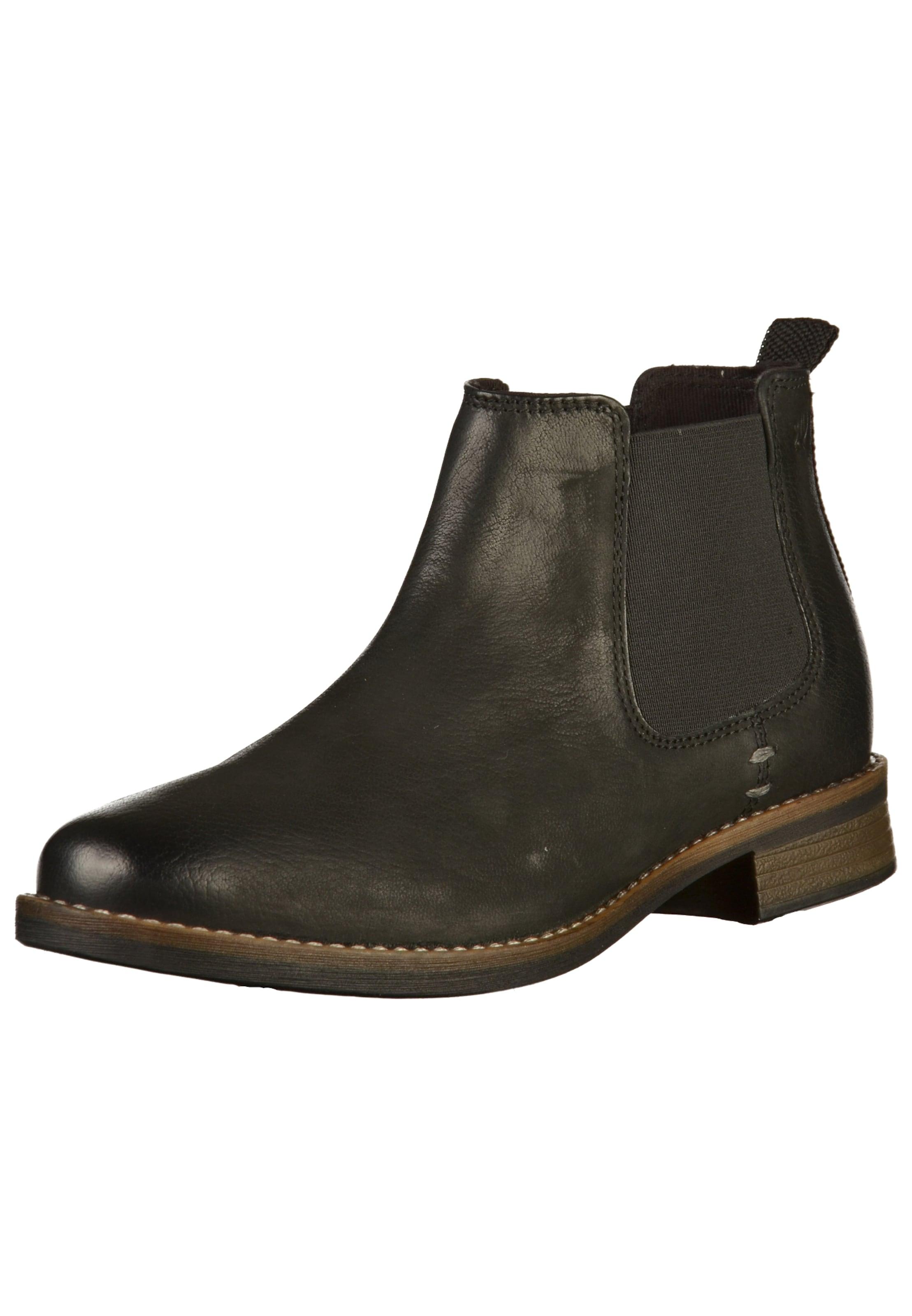 Label En Boots Noir Chelsea oliver S Red UzLSpGjVqM