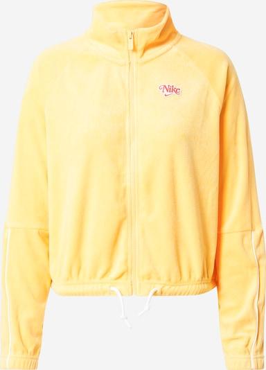 Nike Sportswear Sweatjakke 'Retro' i guldgul, Produktvisning