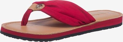TOMMY HILFIGER Zehentreter in rot, Produktansicht