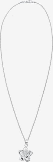 ELLI PREMIUM Halskette 'Frangipani Blüte' in silber, Produktansicht