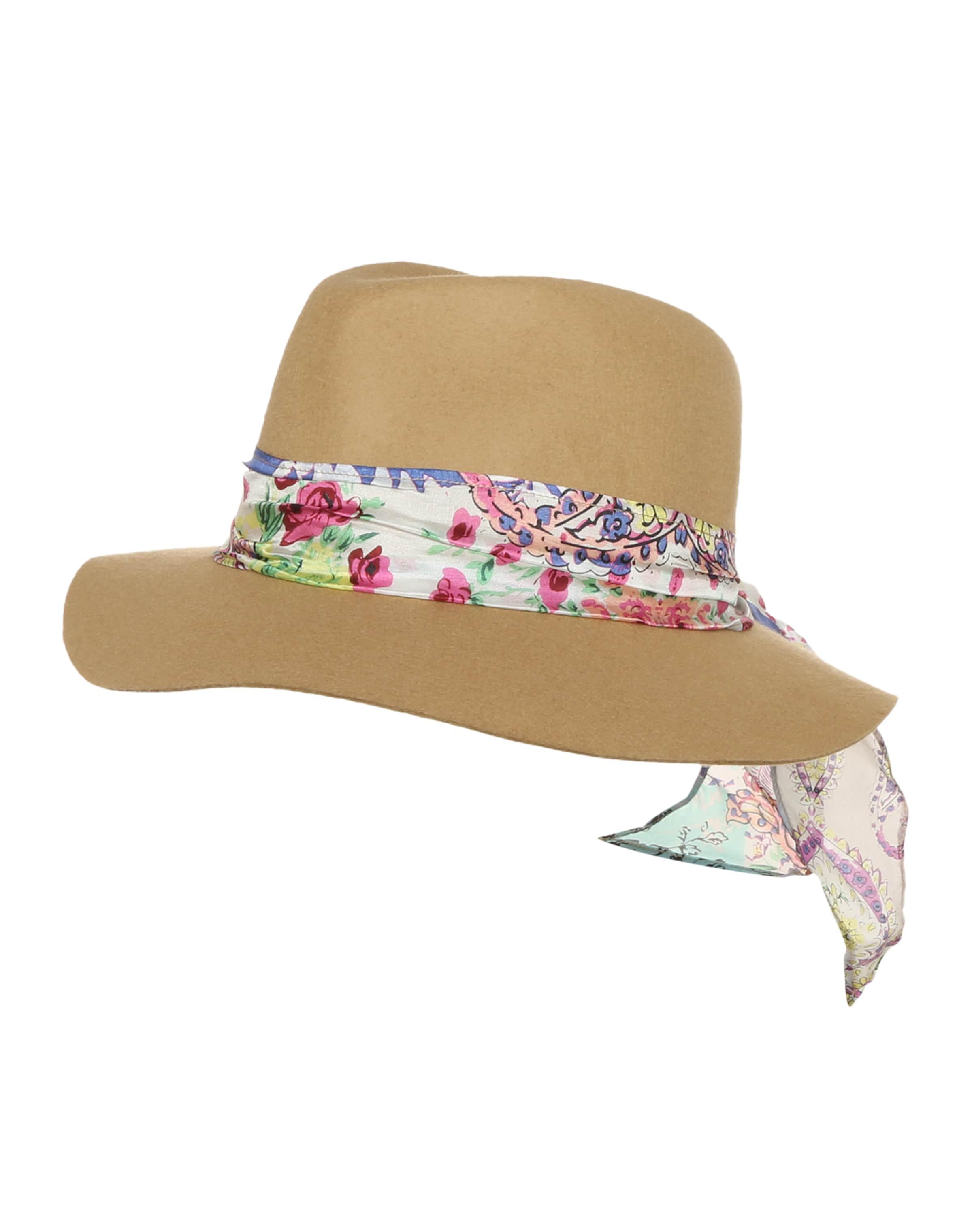 Billig Verkauf Limitierter Auflage Rabatt-Outlet-Store CODELLO Hut aus Wolle mit Hutband in floralem Print Spielraum Sammlungen 7qHEnh