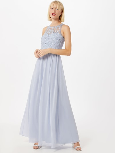 Laona Kleid in hellblau, Modelansicht