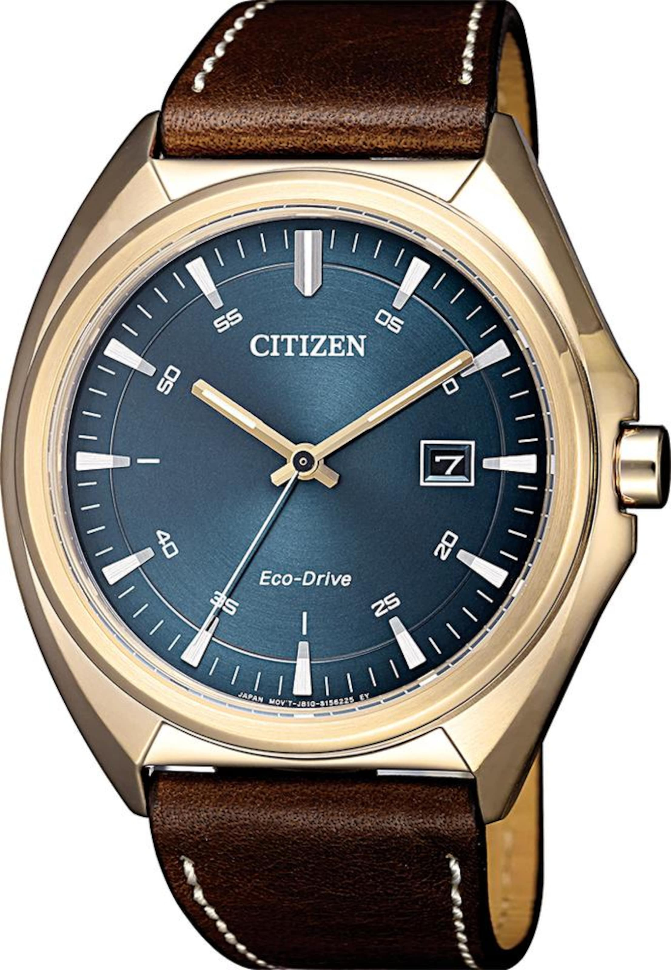 11l' 'aw1573 Citizen Solaruhr In BlauBraun Gold Pnk8wON0XZ