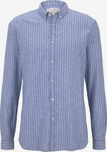 TOM TAILOR DENIM Blusen & Shirts Hemd aus Leinengemisch in blau, Produktansicht