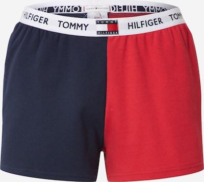 TOMMY HILFIGER Pyžamové kalhoty - tmavě modrá / červená / bílá, Produkt