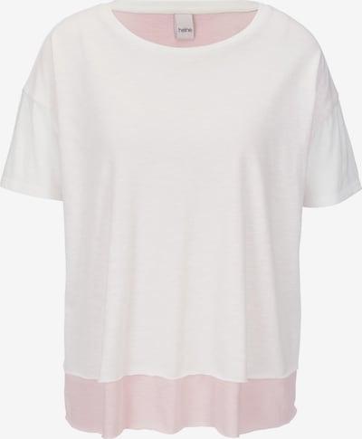 heine Shirt in hellpink / weiß, Produktansicht