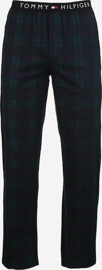 TOMMY HILFIGER Hose 'Flannel Check' in dunkelblau / dunkelgrün, Produktansicht