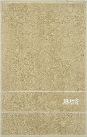 BOSS Home 2 x Gästehandtuch im Set PLAIN 2-tlg. in beige, Produktansicht