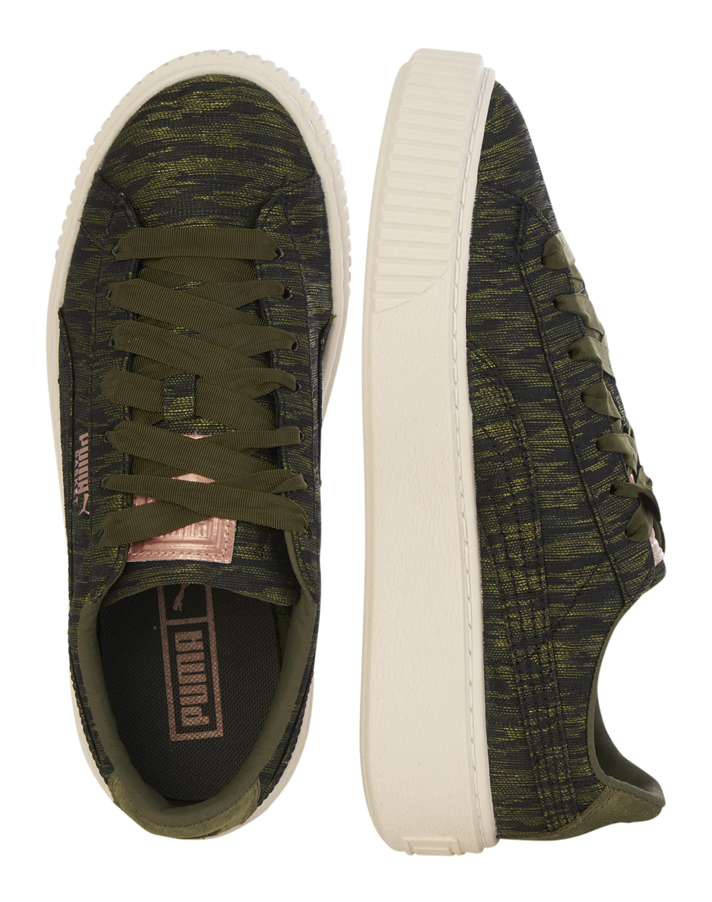'basket Platform' In Oliv Puma Sneaker uPXZOki