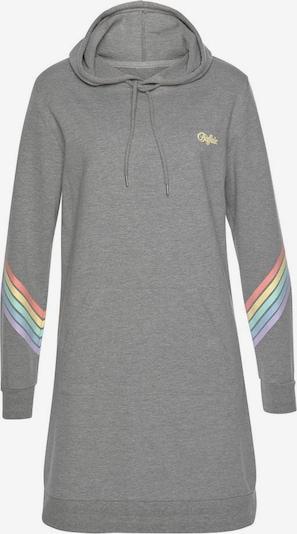 BUFFALO Kleid 'Rainbow' in graumeliert / mischfarben, Produktansicht