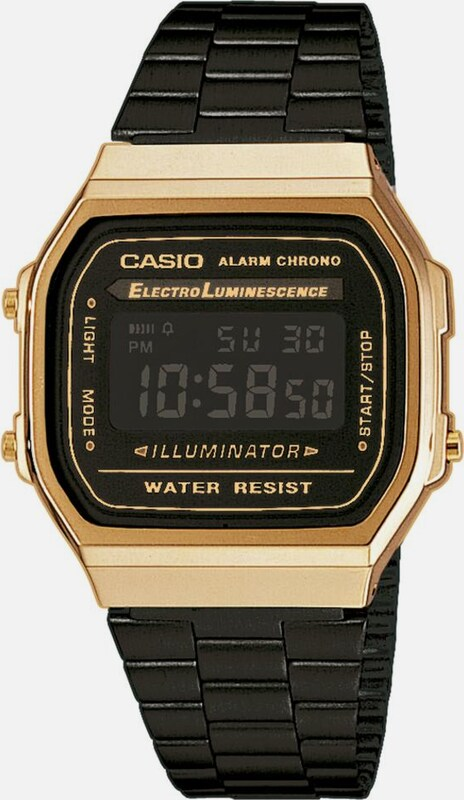 CASIO Collection Chronograph »A168WEGB-1BEF« in schwarz, Produktansicht