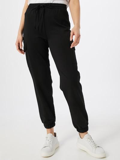 PIECES Sweatpants 'PCMARISA' in schwarz, Modelansicht