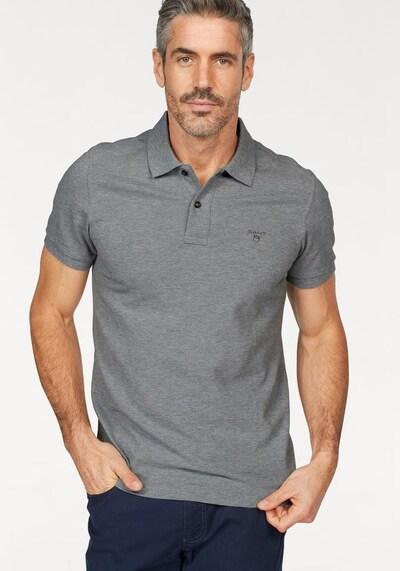 GANT Poloshirt 'Original Rugger' in graumeliert: Frontalansicht