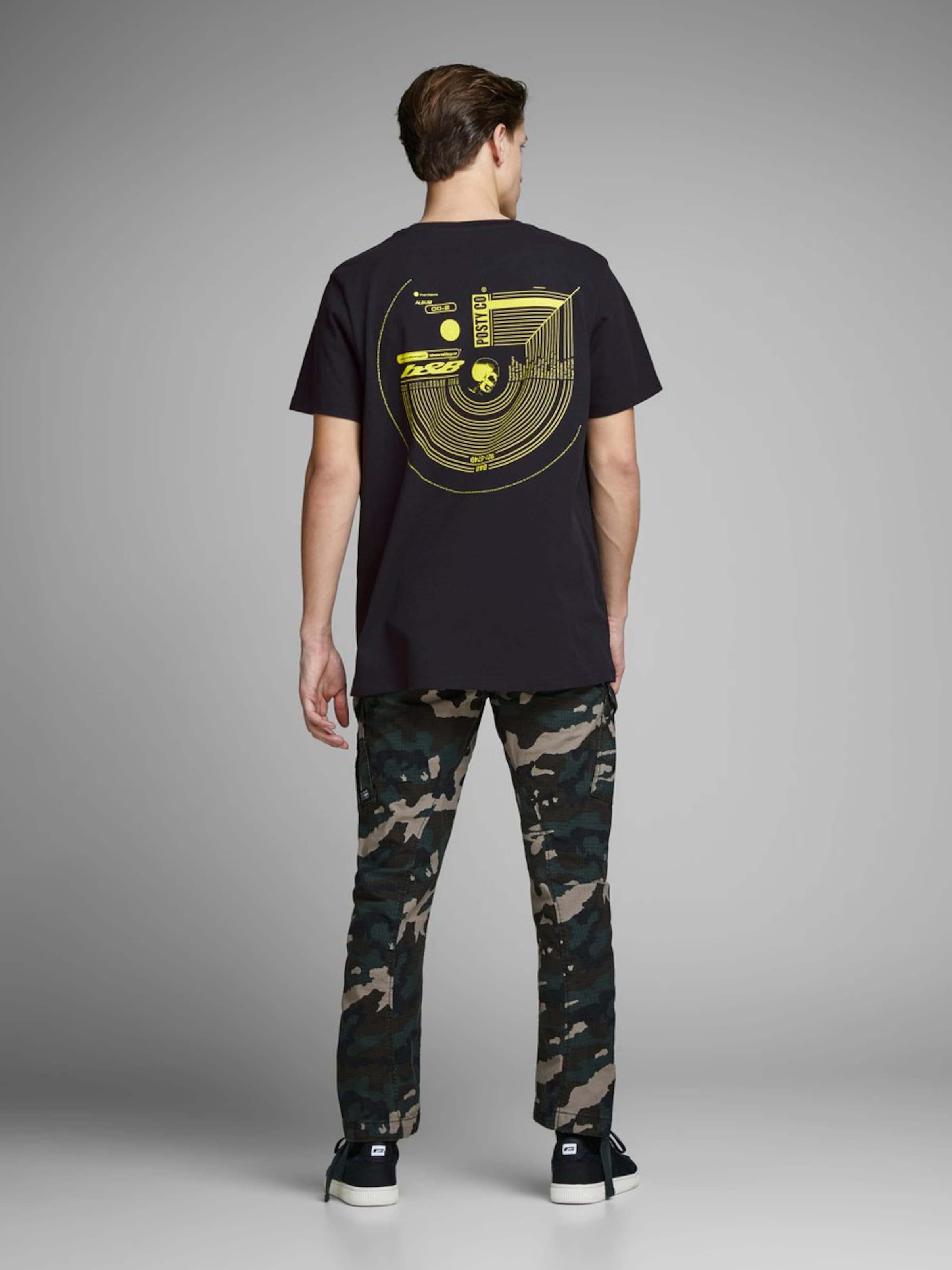 Jones Shirt Shirt Jones Jackamp; GeelZwart In Jackamp; w8n0mNv