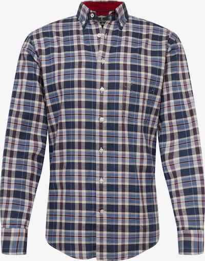 FYNCH-HATTON Hemd in navy / hellblau, Produktansicht