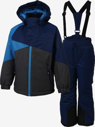 COLOR KIDS Set 'Sacramento' in blau / dunkelblau / schwarz, Produktansicht
