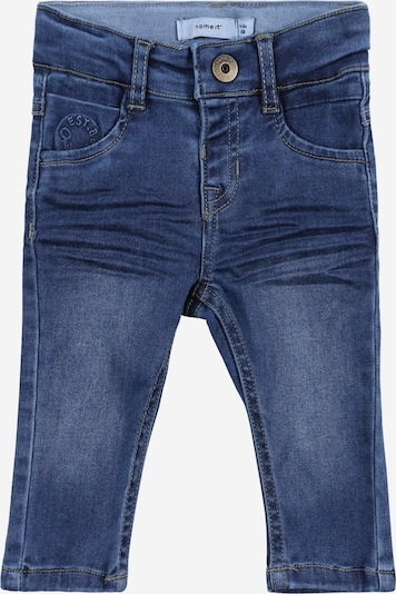 NAME IT Pantalon en bleu: Vue de face