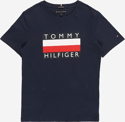 TOMMY HILFIGER Shirt in navy / red / white, Item view