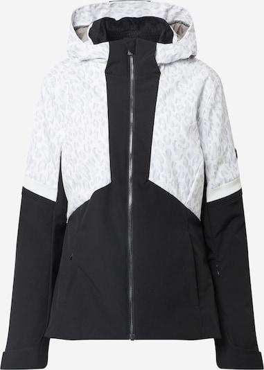 ZIENER Sportjacke 'TAHIRA' in schwarz / schwarzmeliert / weiß, Produktansicht