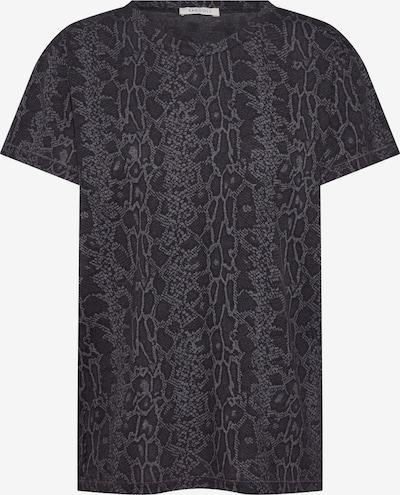 Ragdoll LA Shirt 'Vintage Tee' in grau / schwarz, Produktansicht