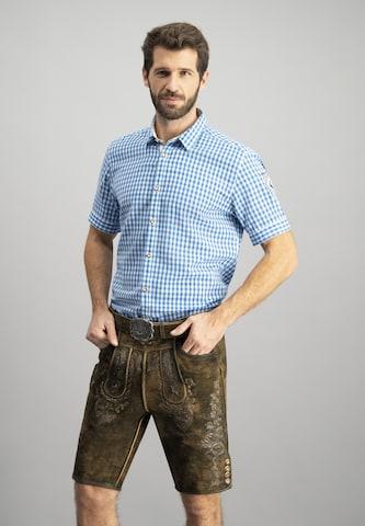 zils STOCKERPOINT Krekls ar tradicionālo rakstu 'Connor'