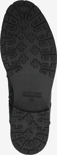 JACK & JONES Bottes à lacets 'ORCA' en anthracite / noir: Vue de dessous