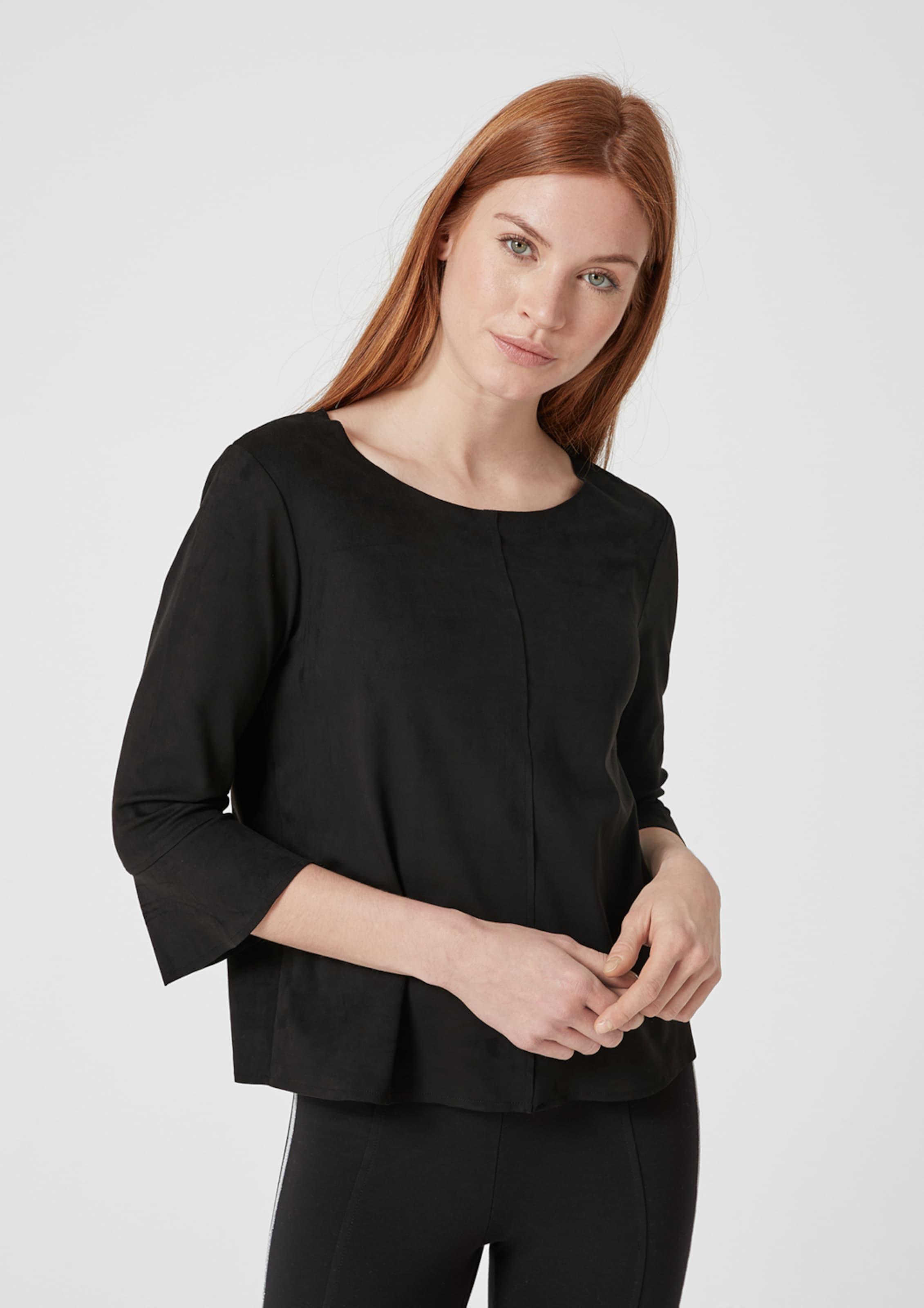 In Shirt S oliver Schwarz Red Label 0PyNwO8vmn
