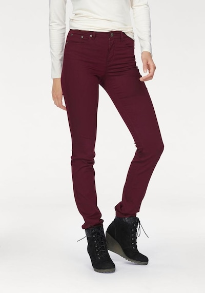 ARIZONA Jeans in bordeaux, Modelansicht