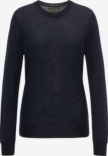 MUSTANG Sweater ' Feinstrickpullover ' in schwarz, Produktansicht