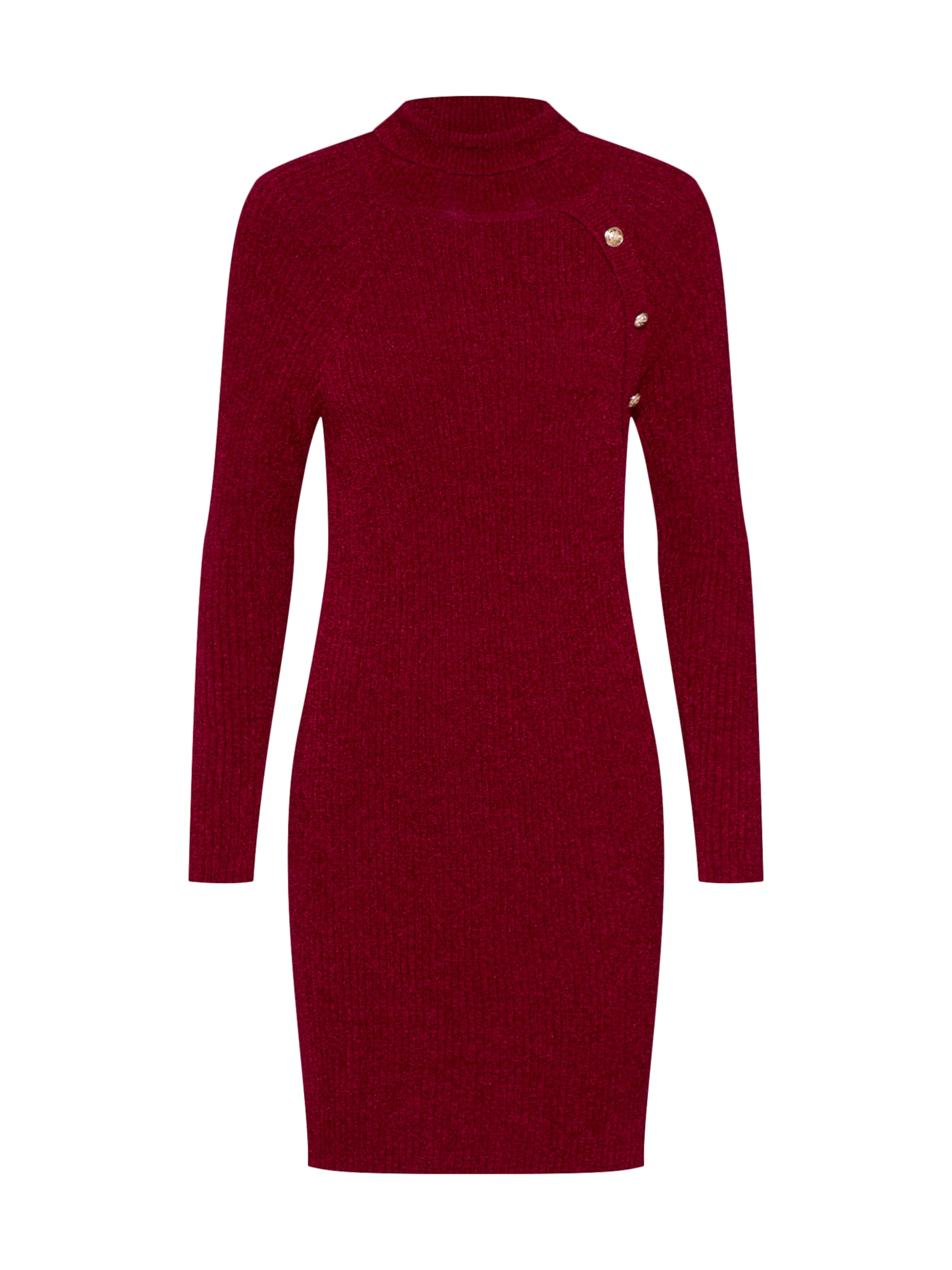 Guess 'astrid Robes Maille Dress Swtr' Rouge En eEDYbIH9W2