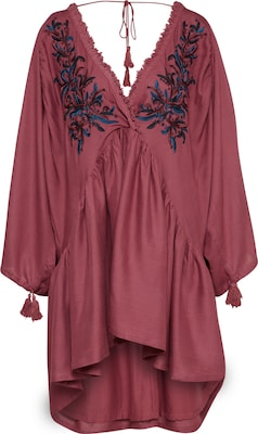 NA-KD Oversized Kleid 'embroidered linen'