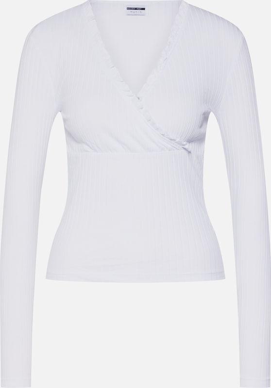 T shirt Noisy May 'nmcourtney' En Blanc A45R3jL