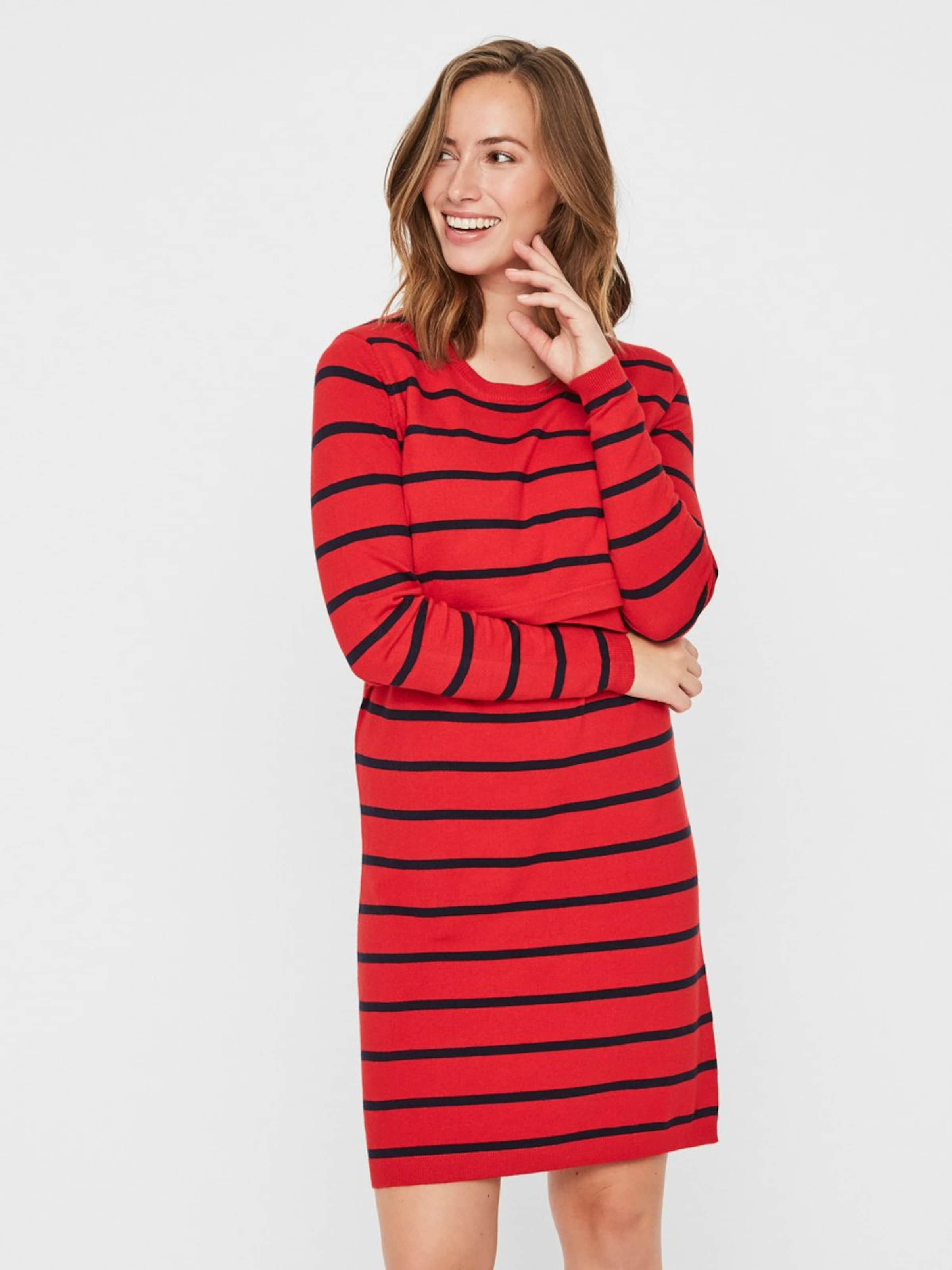 HellrotSchwarz Mamalicious Kleid Kleid Mamalicious In sxCtrdQh