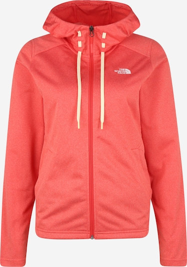 THE NORTH FACE Functionele fleece jas 'Mezzaluna' in de kleur Rood / Wit, Productweergave