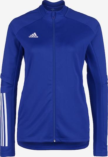 ADIDAS PERFORMANCE Trainingsjacke 'Condivo 20' in blau / weiß, Produktansicht